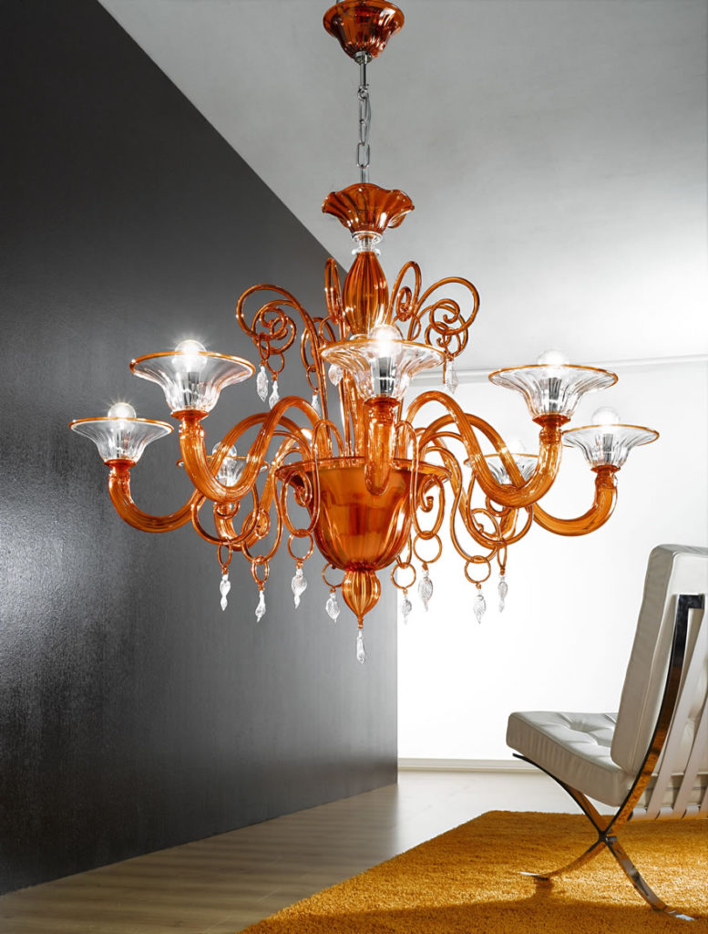 Lampade e lampadari di ogni tipo e stile, consulenza illuminotecnica, assistenza e manutenzione. Lampadari Sospensioni Roma Fabbrica Lampadari La Luce