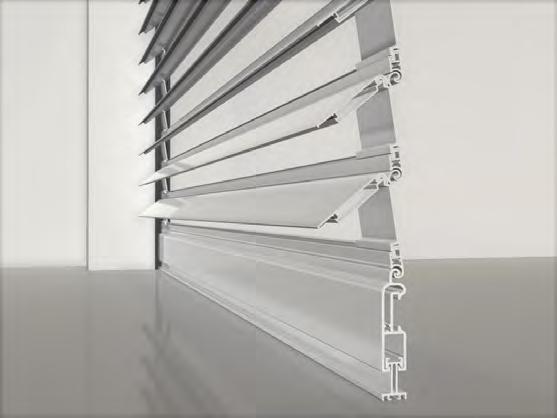 Le tapparelle orientabili sono una versione più evoluta delle comuni tapparelle, in cui le lamelle possono ruotare in modo da far filtrare. Tapparella Orientabile Fabbrica Di Tapparelle