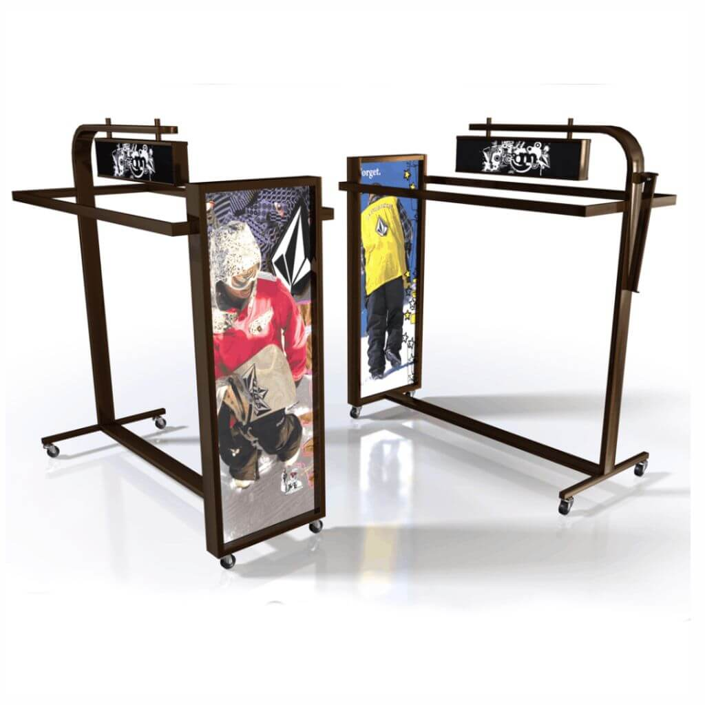 Outdoor Action Sports Display