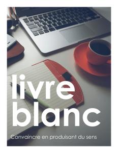 Livre Blanc_Convaincre par de la production de sens -cover