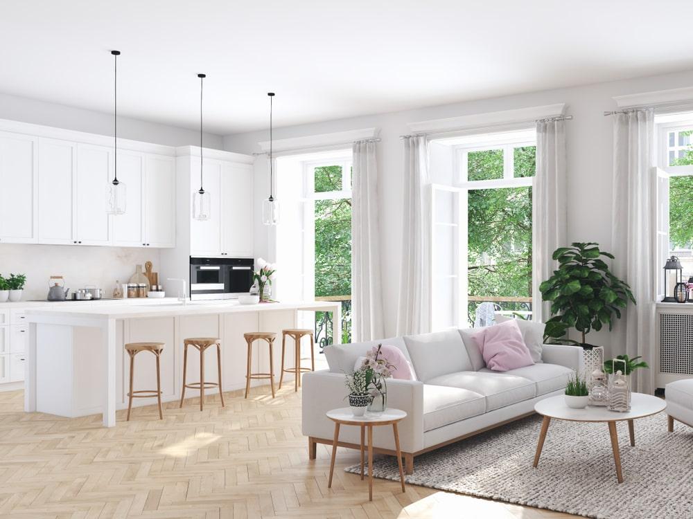 Il soggiorno, si sa, è l'ambiente che ospita il divano o poltrone per non aspettatevi di trovare divani letto brutti e informi, poltrone della nonna. Come Arredare Un Open Space Con Soggiorno E Cucina Faber