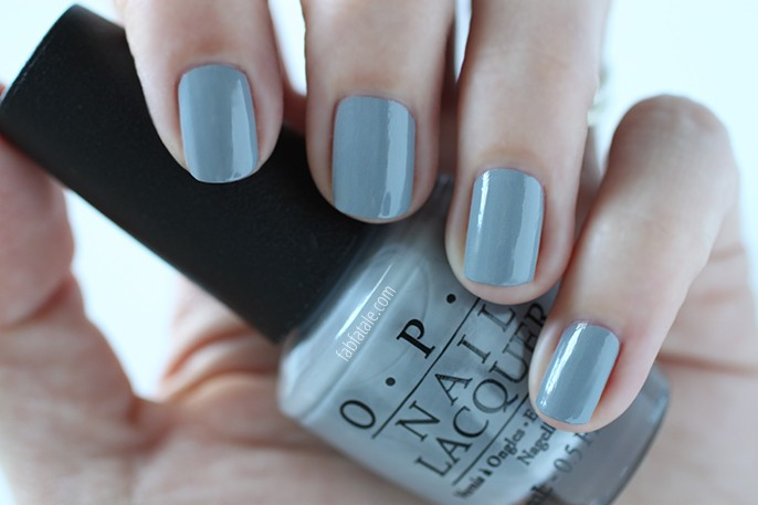 Opi Fifty Shades Of Gray Cement The Deal Swatch