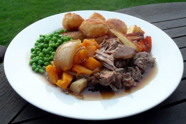 Leg of lamb, slow cooker, crock pot, slow roast, Easter, spring lamb