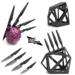 Edge of Belgravia Black Diamond Knife Block & Precision Knife Collection Giveaway - Fab Food 4 All