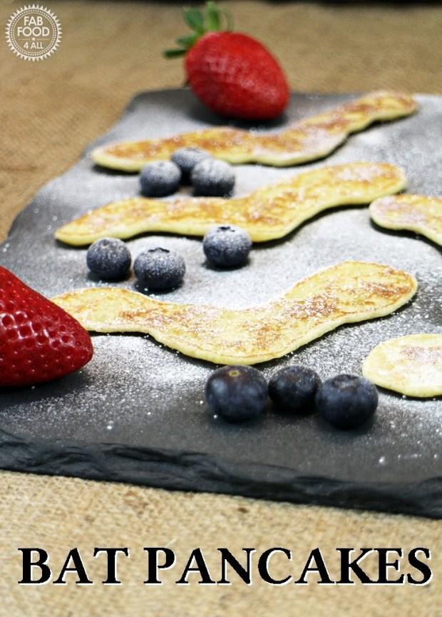 Bat Pancakes for Hotel Transylvania 2 - Fab Food 4 All