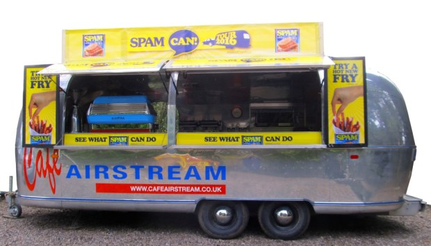 SPAM Can Tour 2016 Airstream Van