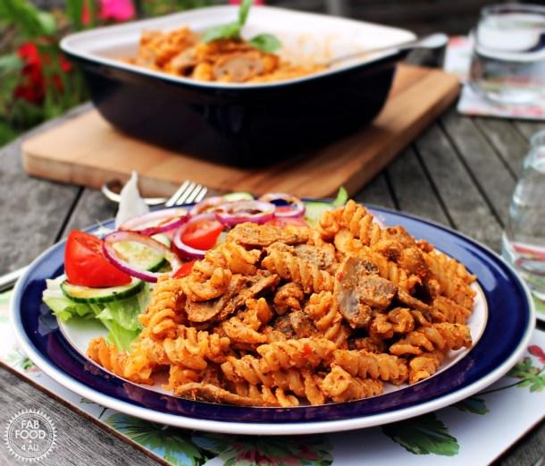 10 Minute Mushroom Pasta - Fab Food 4 All