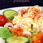 Prawn & Egg Salad - Fab Food 4 All
