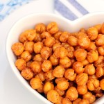 Smokey Maple Roasted Chickpeas - ActiFry Recipe, vegan & gluten free! Fab Food 4 All