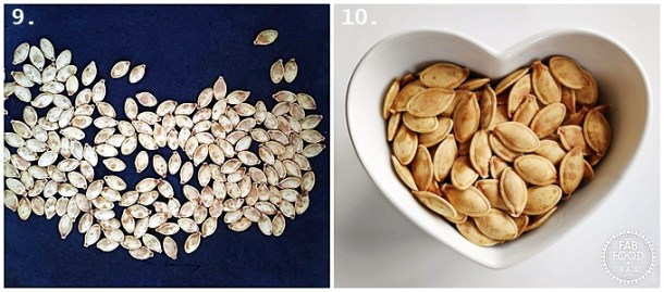 Step-by-step photos - How to make The Best Roasted Pumpkin Seeds Recipe