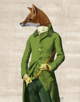 Fox in Green Jacket