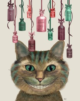 Cheshire Cat and Bottles