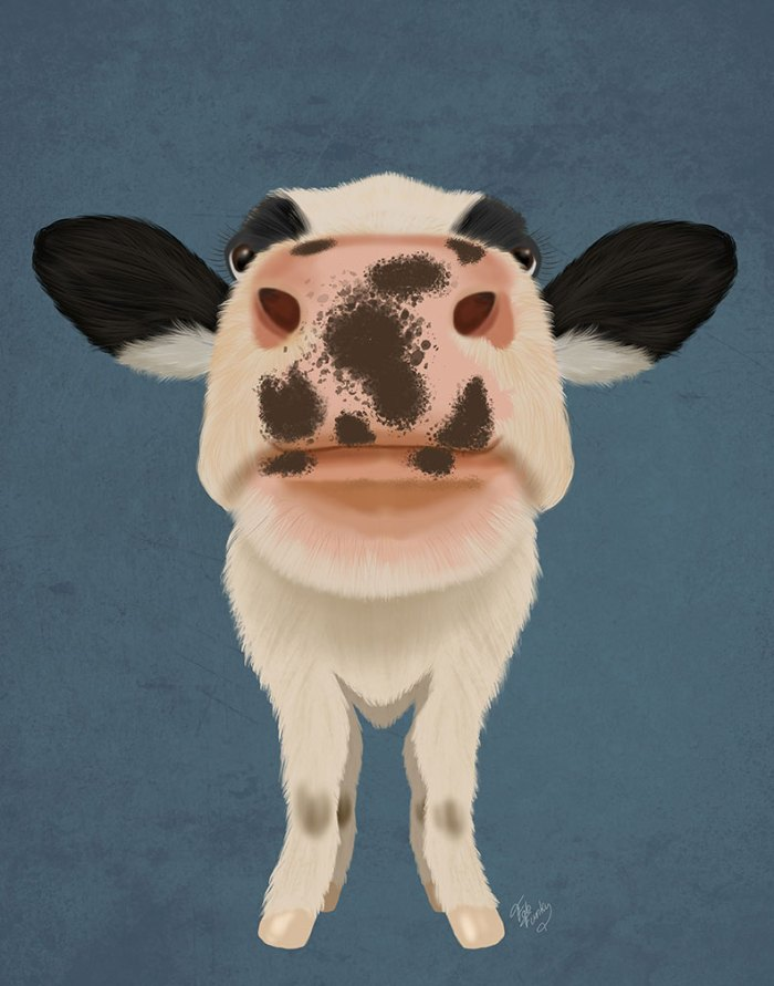 Nosey Cow 1