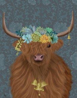 Highland Cow Bohemian 1