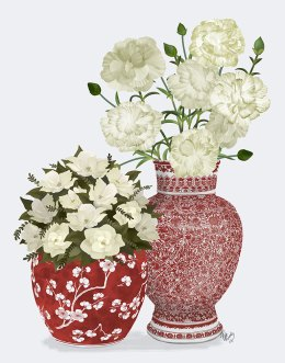 Chinoiserie Flower Duo 1