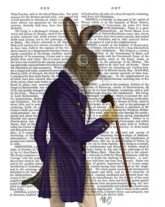 Hare In Purple Coat