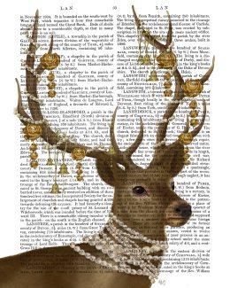 Deer with Gold Bells