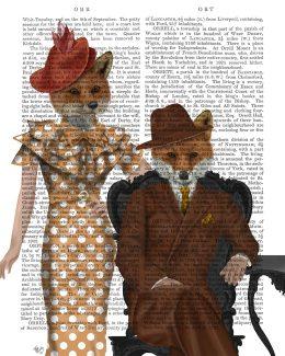 Fox Couple 1930s