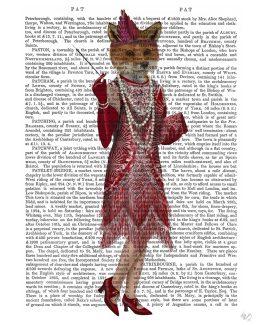 Fox Lady 1920s Flapper