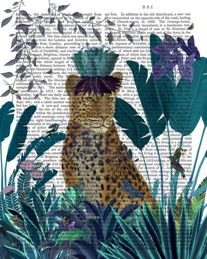 Tropical Leopard