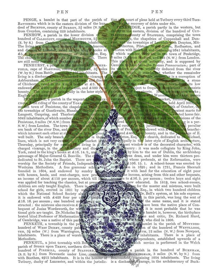 Chinoiserie Vase 1