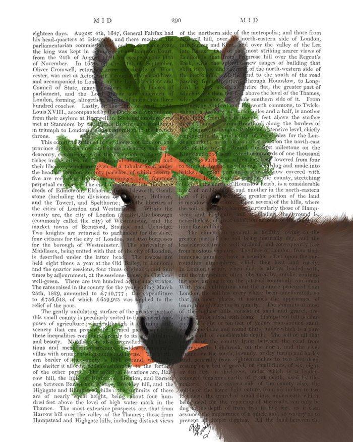 Donkey Carrot Hat