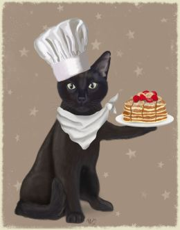 Black Cat Pancakes