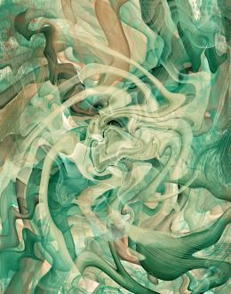 Forest Synergy 1 Abstract Art Print
