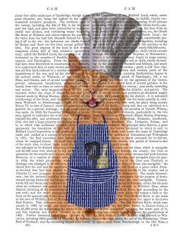 Ginger Cat Happy Chef