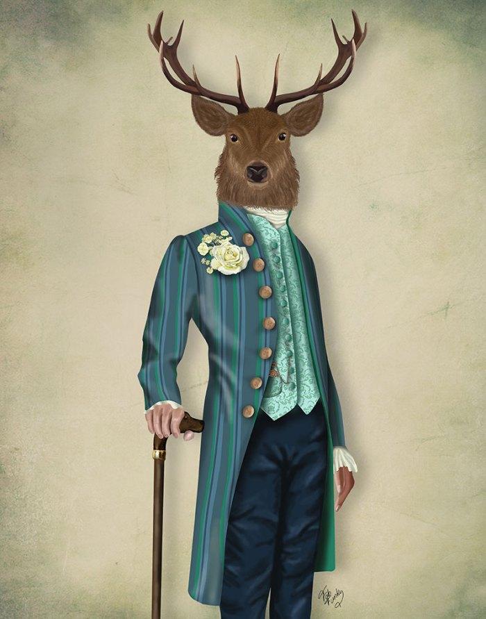 Flamboyant Deer