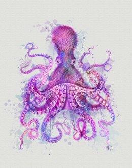 Octopus Rainbow Splash Pink