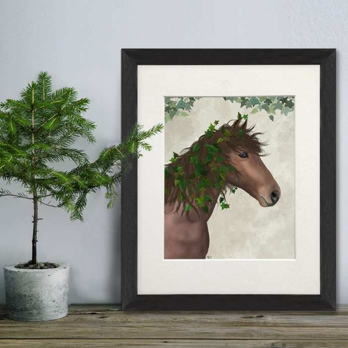 Horse Chestnut with Ivy