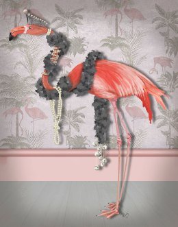 Flamingo and Pearls