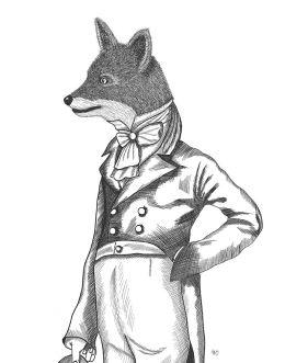 Portrait of Dandy Fox