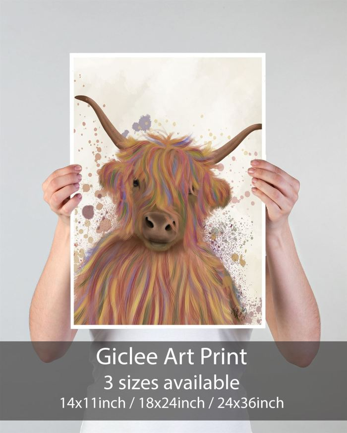 Animal Art Print  Print 18x24inch -