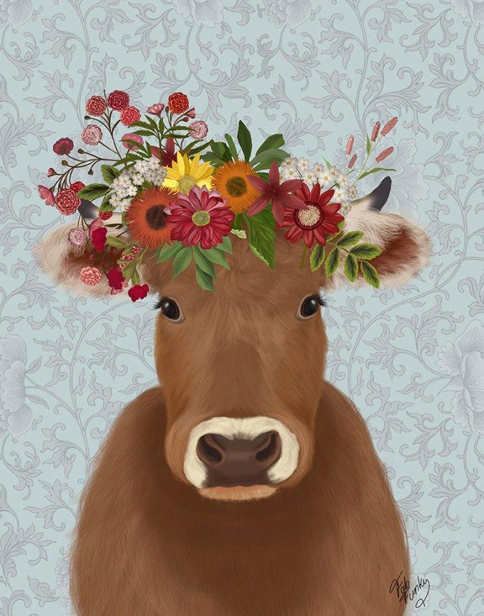Cow Bohemian 1