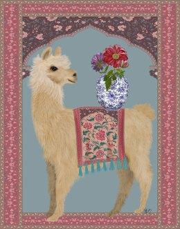 Llama Chinoiserie 3