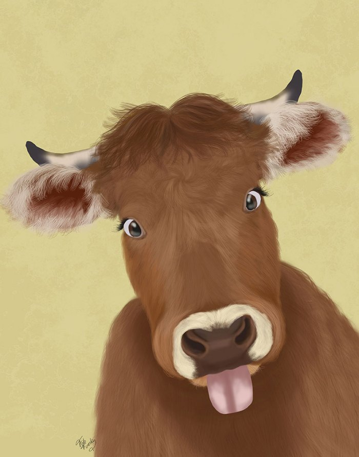 Funny Farm Cow 2