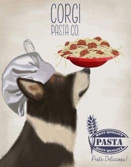 Corgi Tricolour Pasta Cream