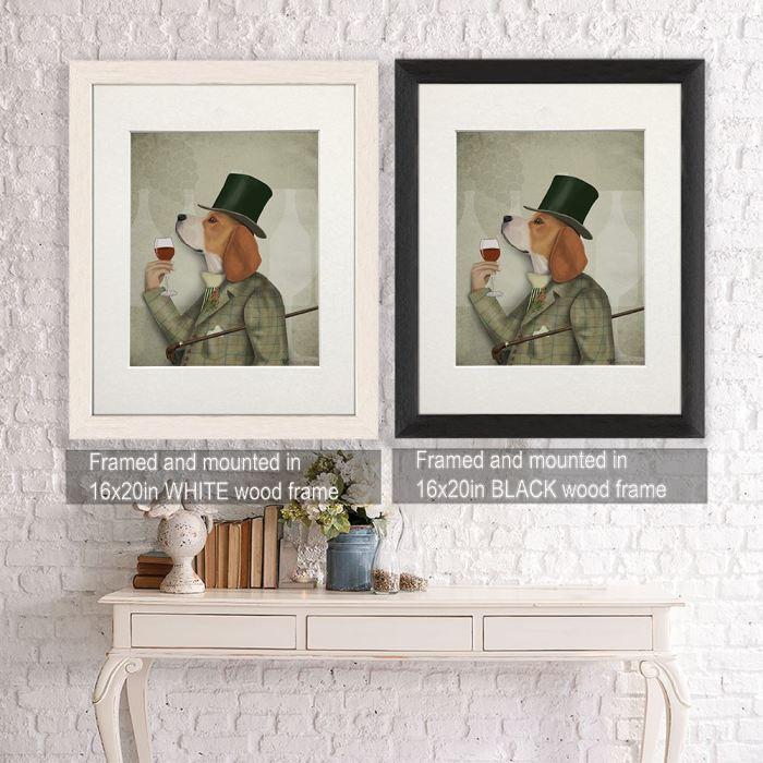 Wall art  Framed White -