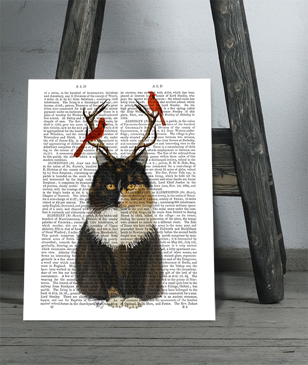 Antlers and Red Birds