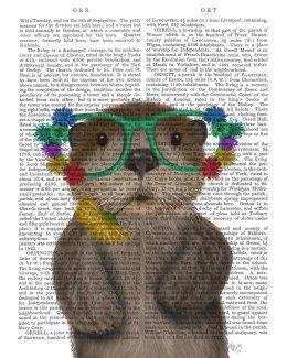 Otter and Flower Glasses