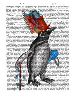 Penguin and Fish Hat