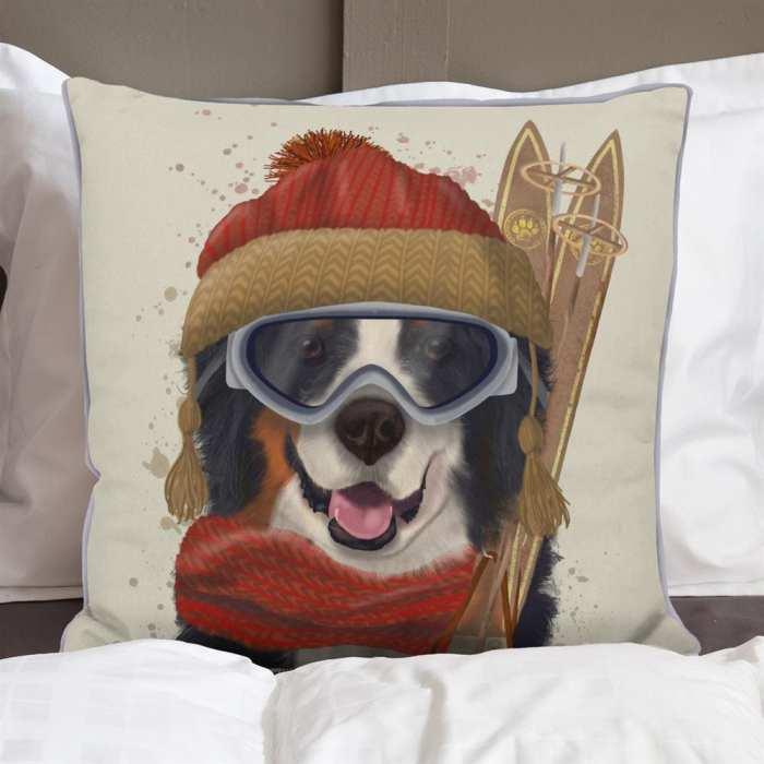 Bernese Ski Dog