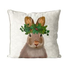 Rabbit and Holly Crown