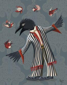 Crow Juggler