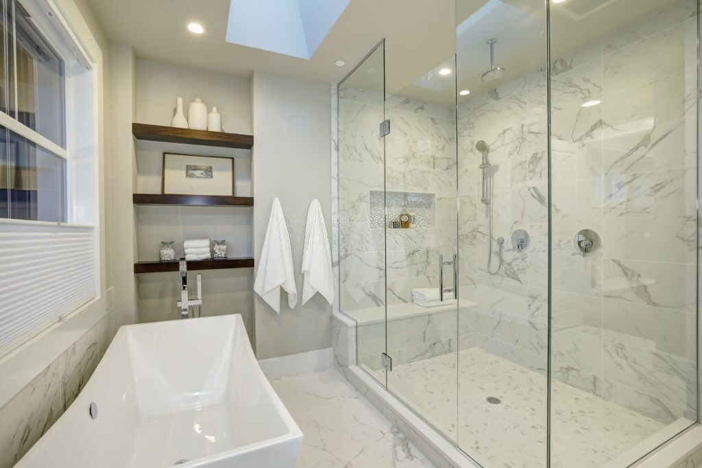 how to install a frameless shower door a diy guide with pictures