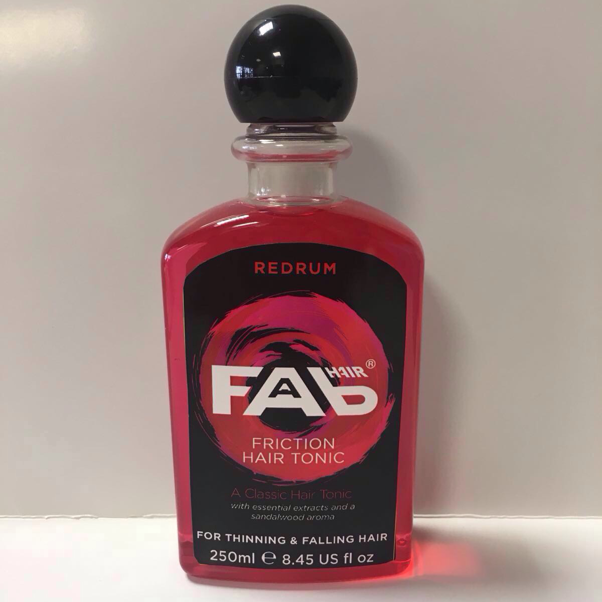 redrum FAB hair friction tonic