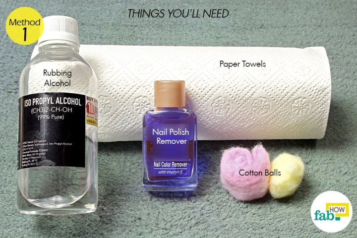 How To Remove Fingernail Polish Out Of Carpet