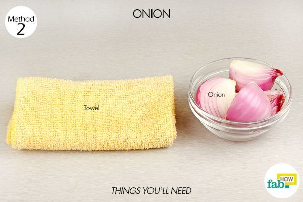 onion for chest congestion things need